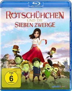 Rotschühchen und die sieben Zwerge Blu-ray cover