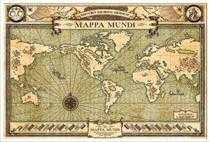 Mappa Mundi Harry Potter