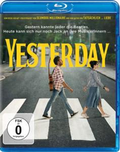 Yesterday Blu-ray Cover