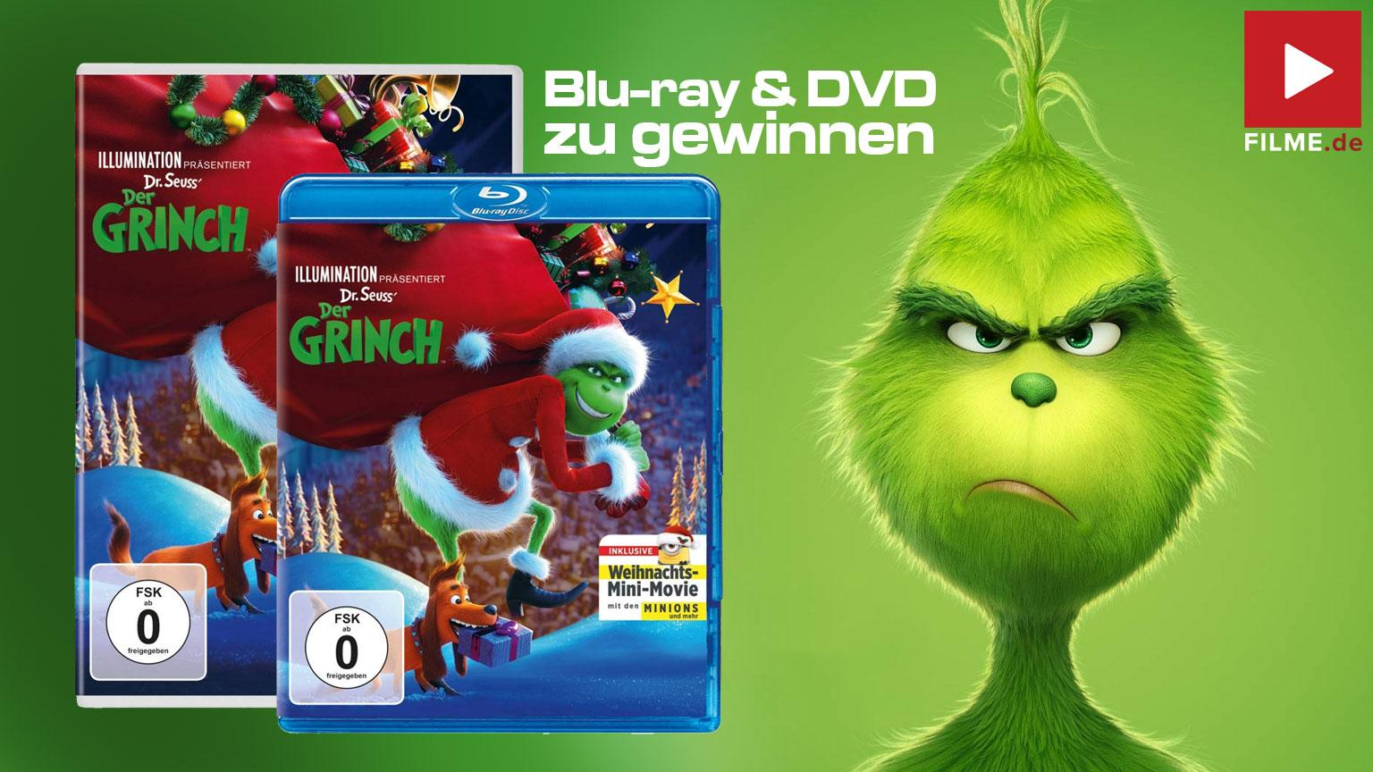 Der Grinch Weihnachtsedition Gewinnspiel Artikelbild