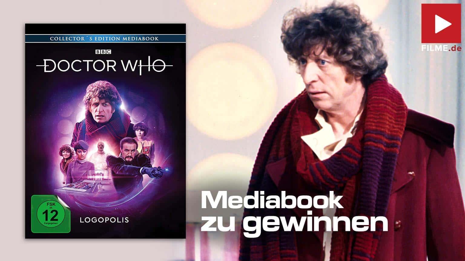 Doctor Who vierter Doktor Logopolis Gewinnspiel Artikelbild