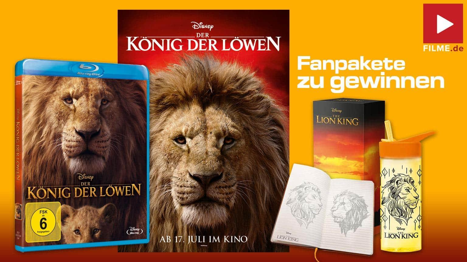 Der König der Löwen Gewinnspiel Artikelbild