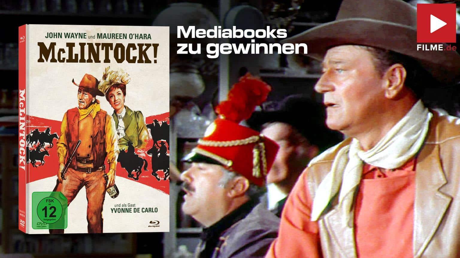 McLintock! Gewinnspiel Artikelbild Mediabook
