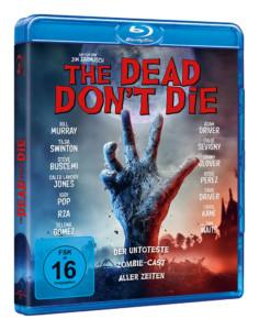 The Dead Don't Die BD Cover