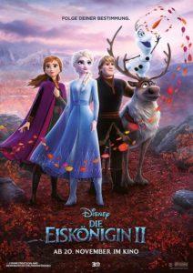 Die Eiskönigin 2 Kino Plakat