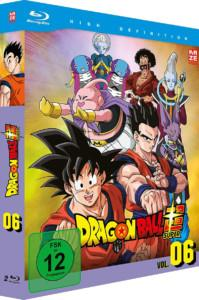 Dragon Ball Super 6BD Cover