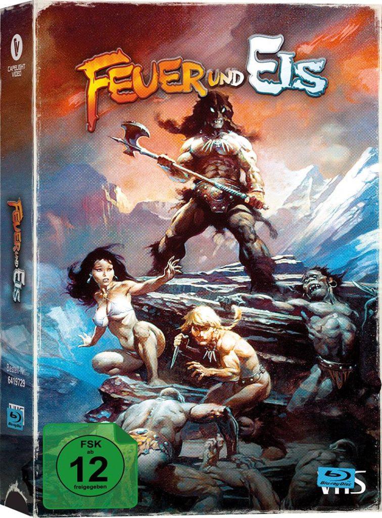 Feuer und Eis VHS Cover