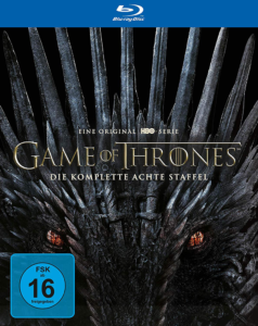 Game of Thrones Staffel 8 BD Cover