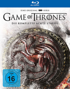 Game of Thrones Staffel 8 Digipack Cover