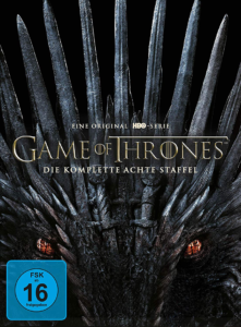 Game of Thrones Staffel 8 DVD Cover