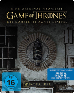 Game of Thrones Staffel 8 UHD SB Cover