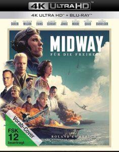 Midway Für die Freiheit 4K UHD Cover