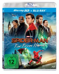Spiderman From Home 3d Cover