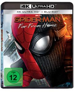 Spiderman from Home UHD Cover