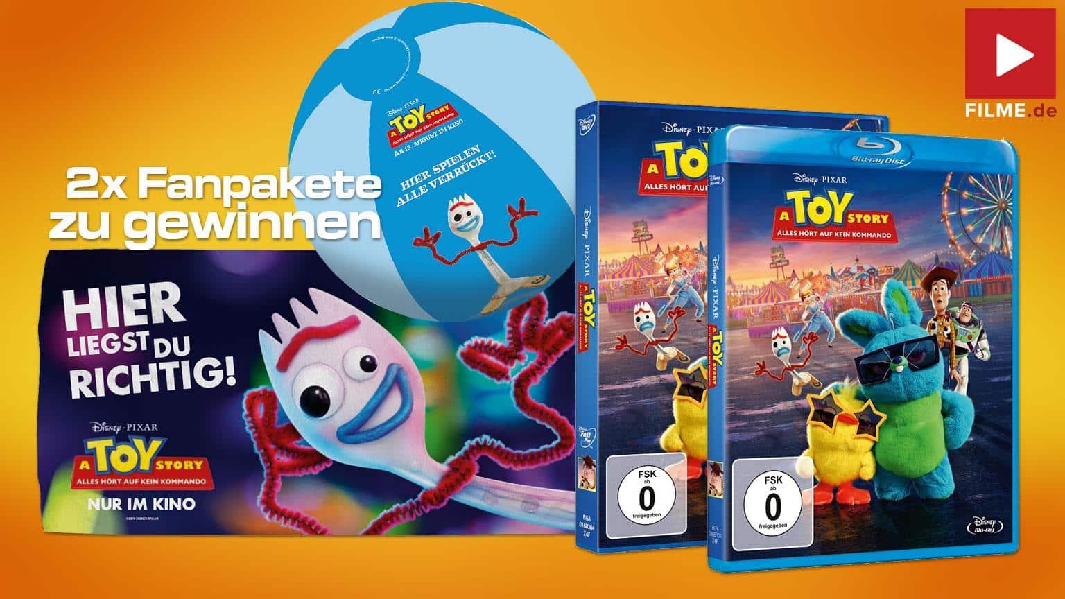 Artikelbild Gewinnspiel Toy Story alles Hört auf kein Komando