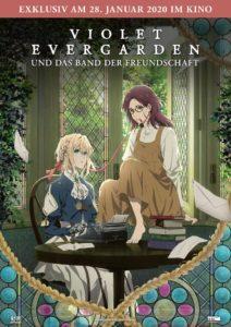 Violet Evergaden News Kino Film 2020 kaufen