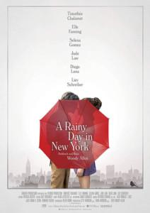 A Rainy Day in New York Blu-ray COver shop kaufen