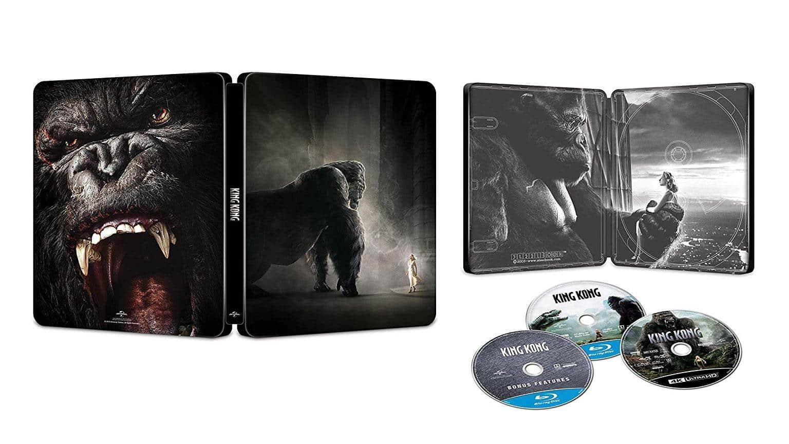 Amazon.it Deal King Kong 4K UHD Steelbook shop kaufen