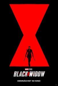 Black Widow Marvel Film 2020 Kino Plakat