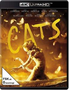 Cats (4K Ultra HD) (+ Blu-ray 2D) Blu-ray cover shop kaufen