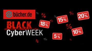 Black Cyber Week Bücher.de Deal 2019