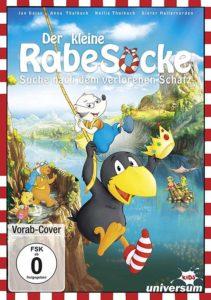 Der kleine Rabe Socke 3 - Die Suche nach dem verlorenen Schatz DVD Cover shop kaufen