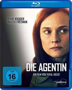 Die Agentin Film 2019 Spionage Diane Kruger Blu-ray cover shop kaufen