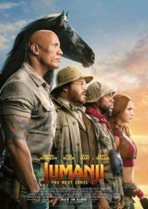 Jumanji 2: The Next Level Kino Review 2019