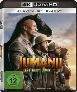 Jumanji: The Next Level 4K UHD Blu-ray verkauf shop kaufen cover