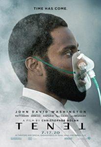 Tenet Film 2020  Kino Plakat