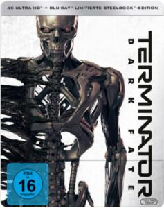 Terminator Dark Fate 4K UHD Steelbook