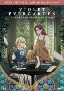 Violet Evergarden und das Band der Freundschaft Kino Kino-Review Streaming 2020 Jaze Anime kaufen Film Shop