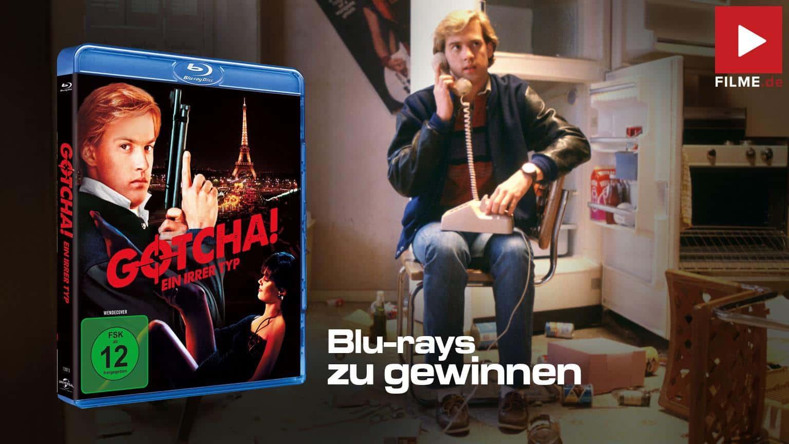 Gotcha Gewinnspiel Artikelbild shop kaufen Blu-ray