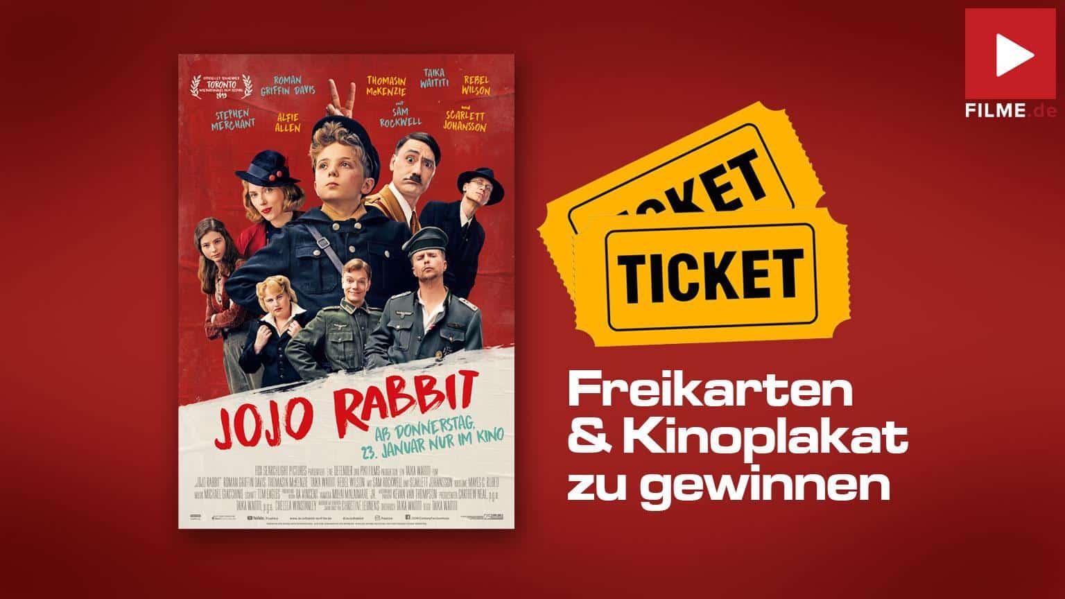 Jojo Rabbit Kinostart Gewinnspiel Artikelbild