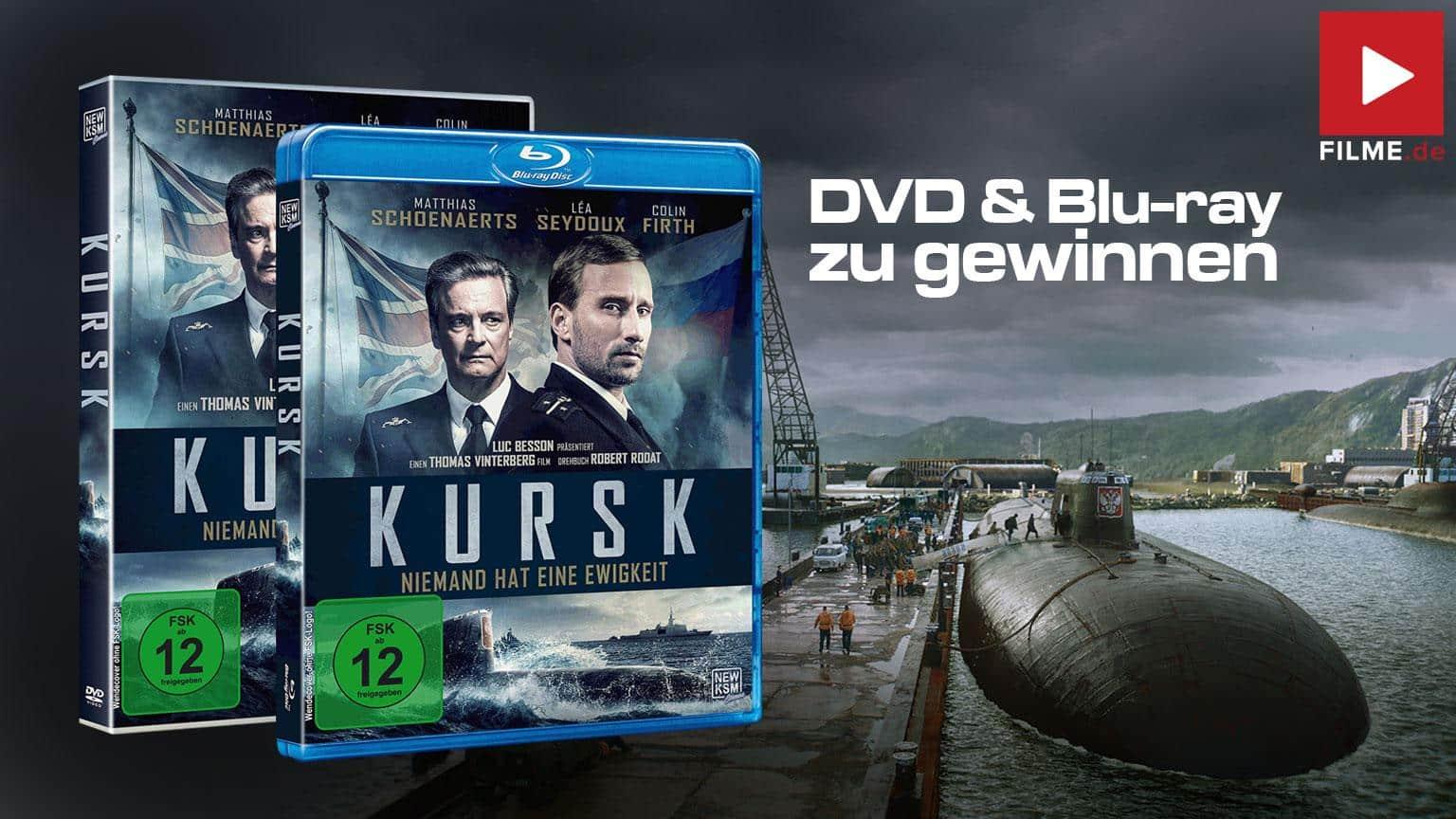 Kursk Gewinnspiel Blu-ray DVD shop kaufen