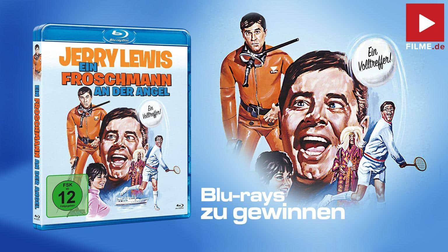 Jerry Lewis: EIN FROSCHMANN AN DER ANGEL gewinnspiel artikelbild shop kaufen