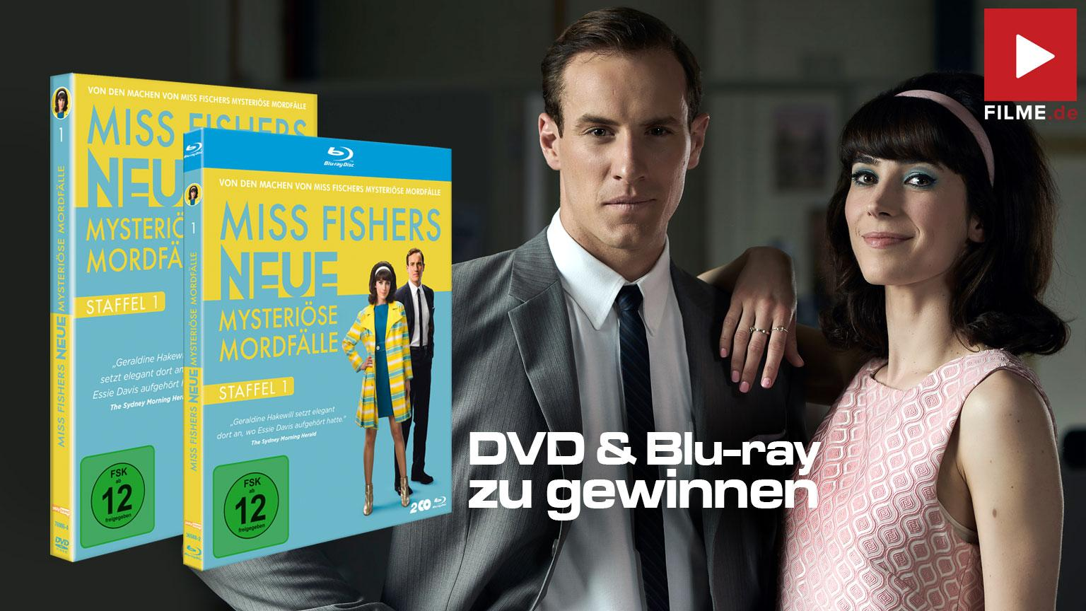 Miss Fishers neue mysteriöse Mordfälle - Staffel 1 shop kaufen Gewinnspiel Artikelbild