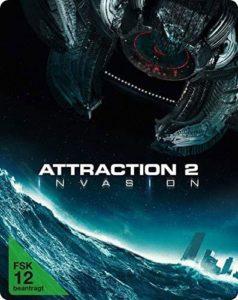 Attraction 2: Invasion Blu-ray Cover Limitiertes Steelbook shop kaufen Film 2020