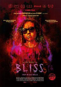 BLISS Tripp in die Hölle Kino Film 2020 Horror  kino plakat