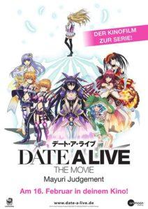 DATE A LIVE MOVIE: MAYURI JUDGEMENT film 2020 kino poster