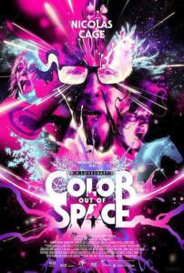 Die Farbe aus dem All - Color Out of Space Film 2020 kino plakat
