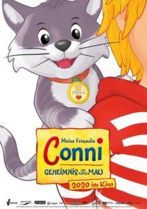 Meine Freundin Conni Geheimnis um kater Mau Film 2020 Kino Plakat