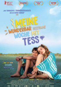 MEINE WUNDERBAR SELTSAME WOCHE MIT TESS Kino Plakat Film 2020