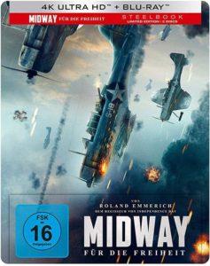 Midway Für die Freiheit 4K UHD  Steelbook