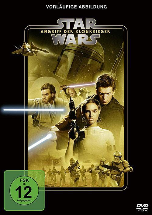 Star Wars Star Wars Angriff der Klonkrieger Line Look 2020 DVD Cover shop kaufen