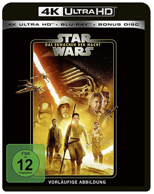 Star Wars Das Erwachen der Macht blu-ray cover line look 2020 shop kaufen 4K uHD