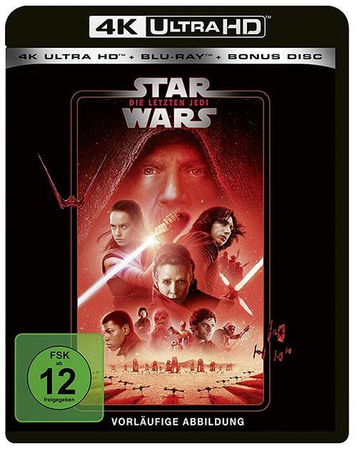 Star Wars Die letzten Jedi blu-ray cover line look 2020 shop kaufen 4K uHD