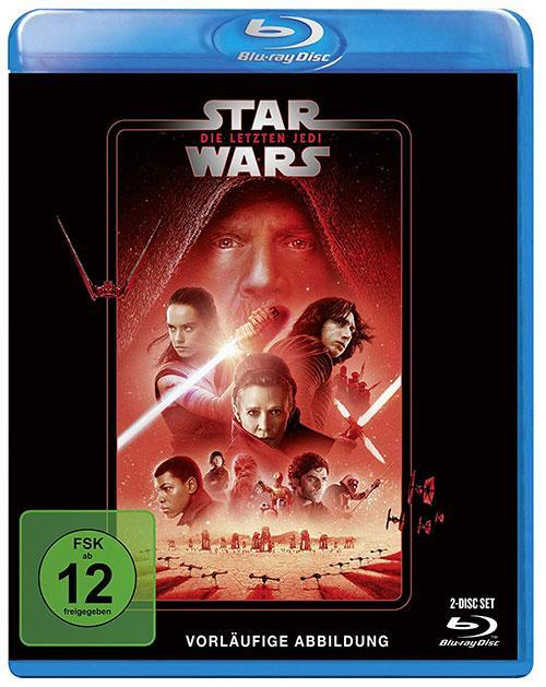 Star Wars Die letzten Jedi blu-ray cover line look 2020 shop kaufen