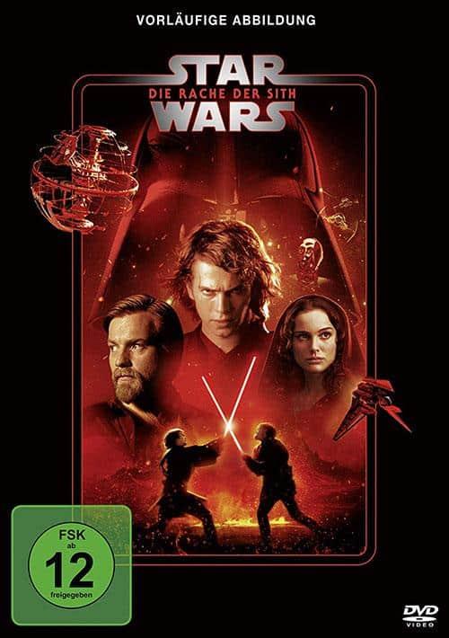 Star Wars Die Rache der Sith Line Look 2020 DVD Cover shop kaufen