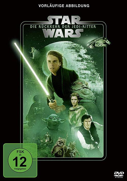 Star Wars Rückkehr der Jedi Ritter Line Look 2020 DVD Cover shop kaufen